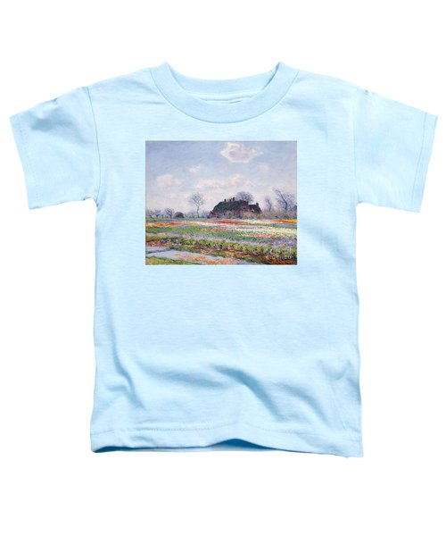 Tulip Fields At Sassenheim Toddler T-Shirt