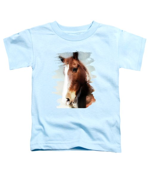 Tumbleweed Sideways Glance Toddler T-Shirt by Anita Faye