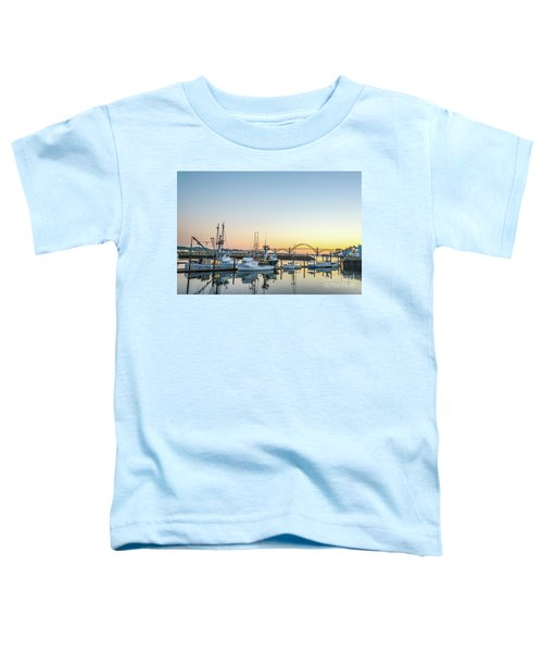 Tuna Boats Resting For The Night Toddler T-Shirt