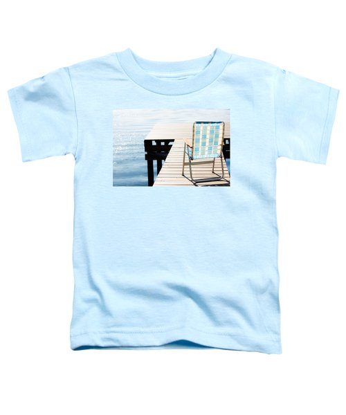 Turquoise Paradise Toddler T-Shirt