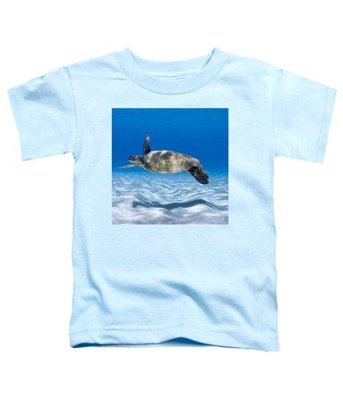 Turtle Flight -  Part 2 Of 3  Toddler T-Shirt