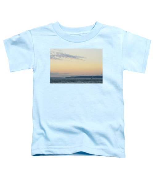 Twilight Moment In Puget Sound Toddler T-Shirt