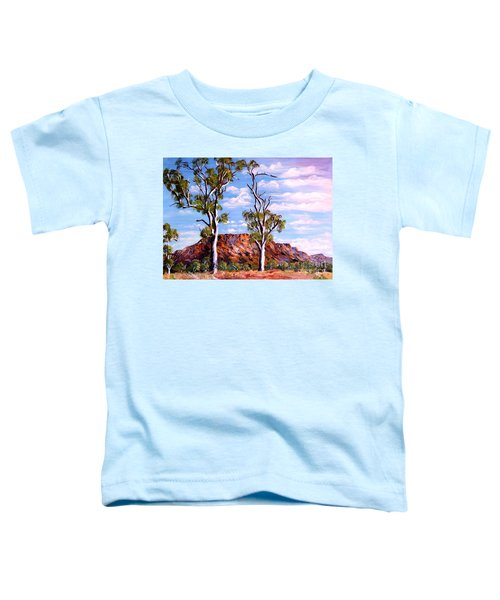 Twin Ghost Gums Of Central Australia Toddler T-Shirt