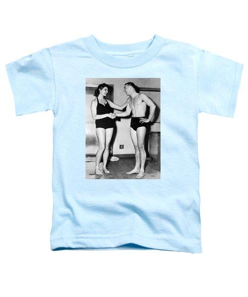 Two Swimming Stars Toddler T-Shirt
