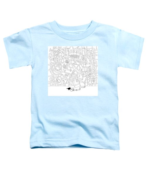 Two Worlds Toddler T-Shirt