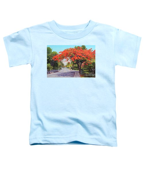 Ubs Poinciana Toddler T-Shirt
