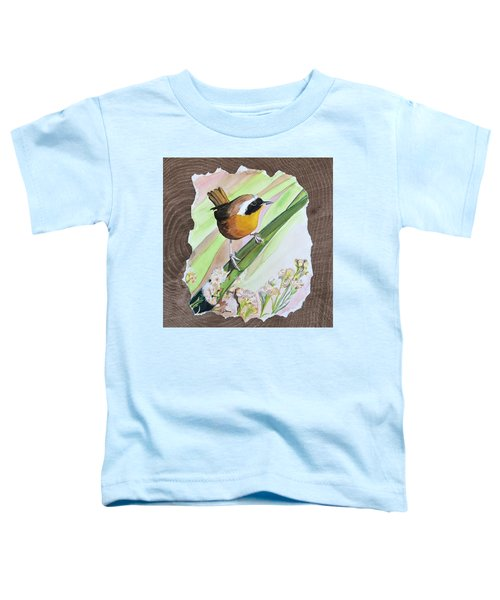 Uncommon Yellowthroat Toddler T-Shirt