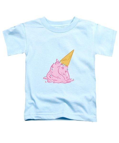 Unicorn Melts Toddler T-Shirt