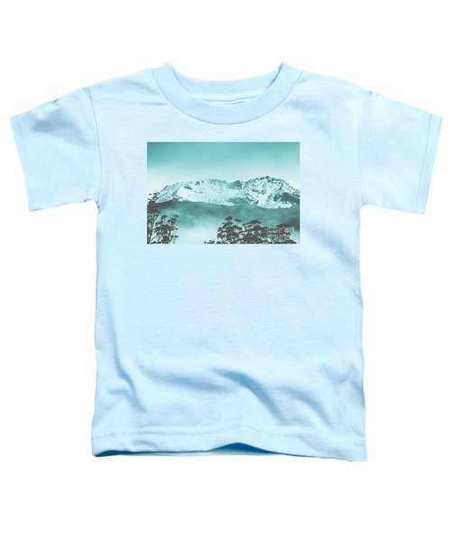 Untouched Winter Peaks Toddler T-Shirt