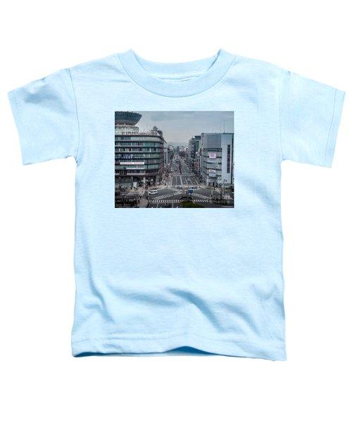 Urban Avenue, Kyoto Japan Toddler T-Shirt