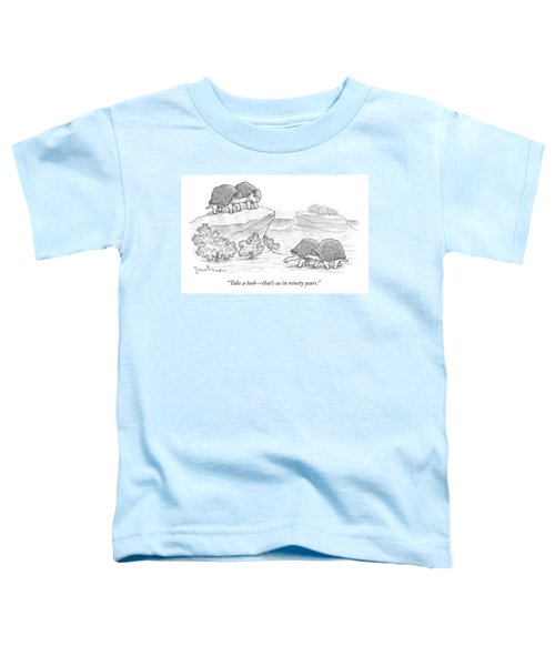 Us In Ninety Years Toddler T-Shirt