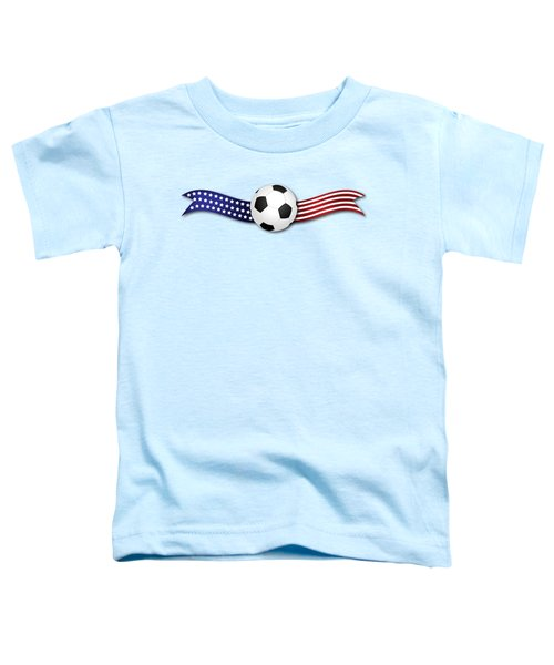 Usa Soccer Toddler T-Shirt