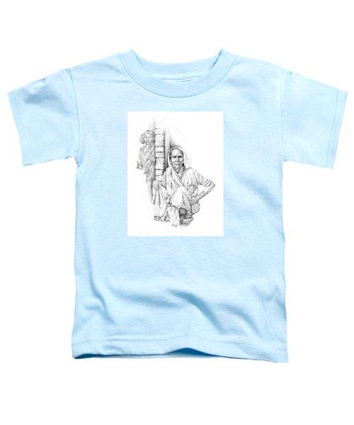 Varanasi Woman Toddler T-Shirt