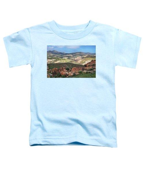 Vasquez Rocks Park Toddler T-Shirt