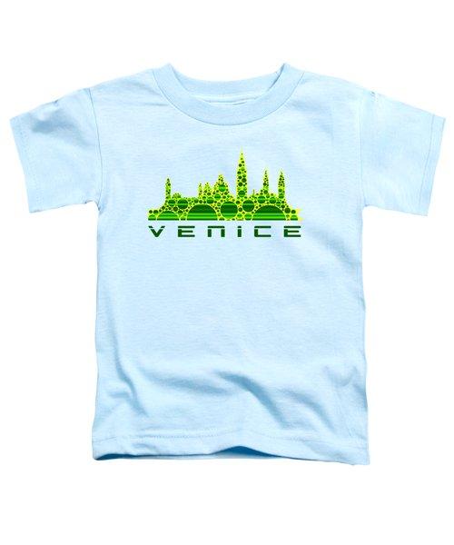 Venice Cool Skyline 3 Toddler T-Shirt