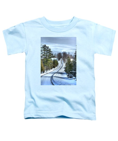 Vermont Country Landscape Toddler T-Shirt