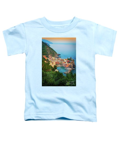 Vernazza From Above Toddler T-Shirt