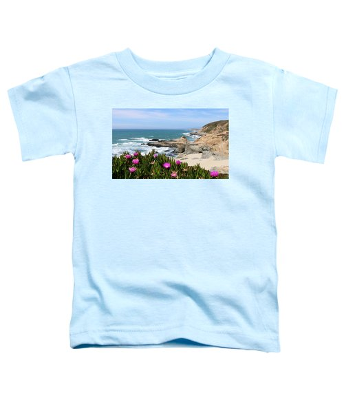 View From Bodega Head In Bodega Bay Ca - 3 Toddler T-Shirt