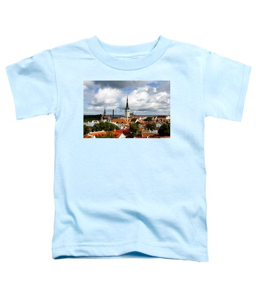 View Of St Olav's Church Toddler T-Shirt
