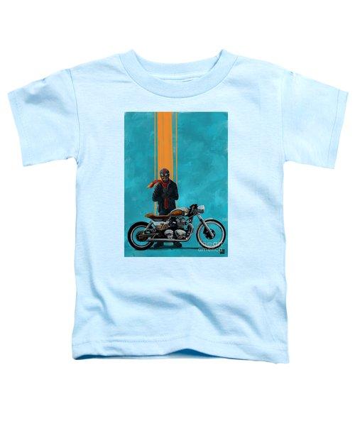 Vintage Cafe Racer  Toddler T-Shirt