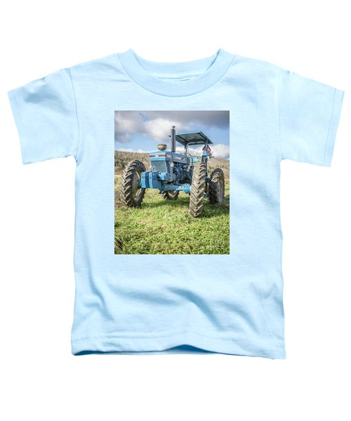 Vintage Ford 7610 Farm Tractor Toddler T-Shirt