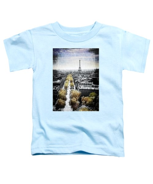 Vintage Paris Toddler T-Shirt