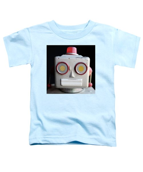 Vintage Robot Square Toddler T-Shirt