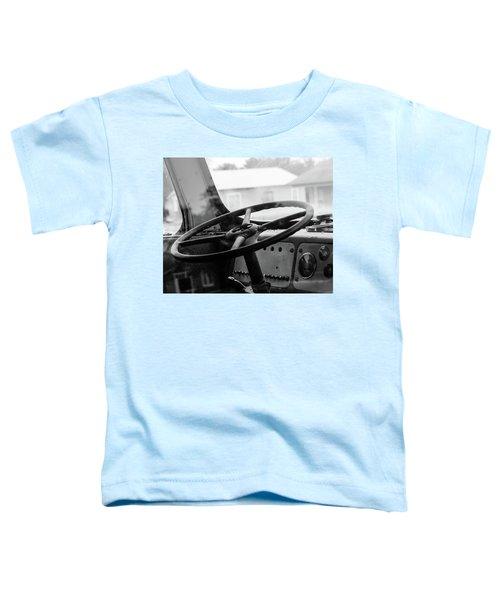 Vintage Steering Toddler T-Shirt