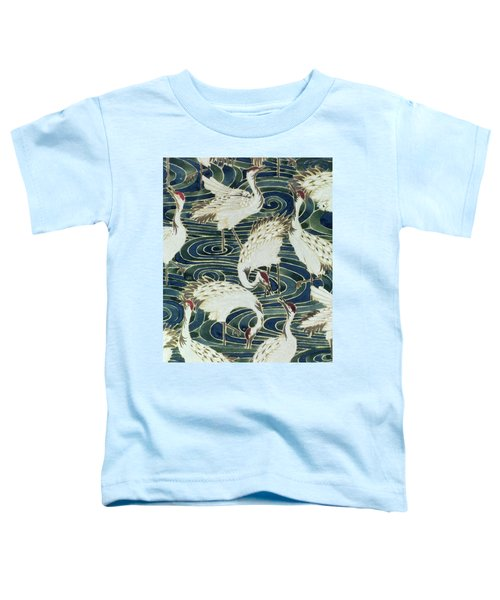 Vintage Wallpaper Design Toddler T-Shirt by English School