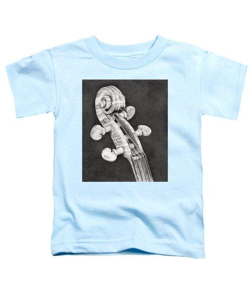 Violin Scroll Toddler T-Shirt
