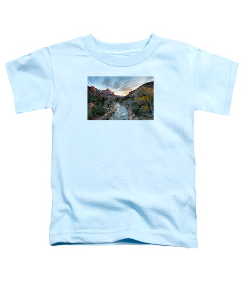 Virgin River And The Watchman Toddler T-Shirt