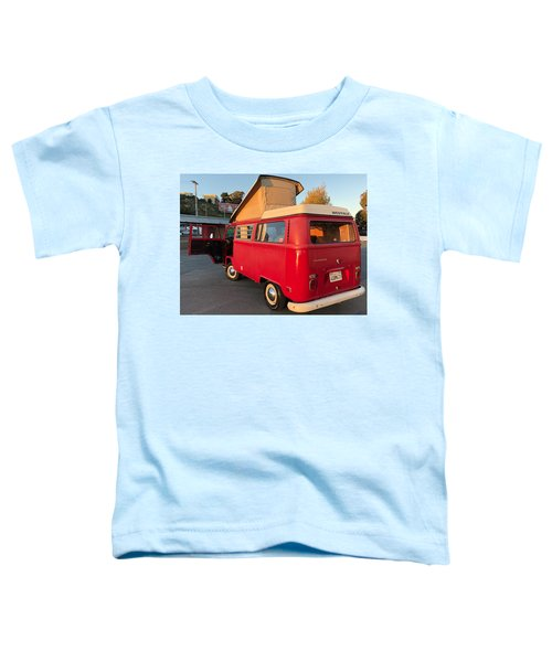 Volkswagen Bus T2 Westfalia Toddler T-Shirt