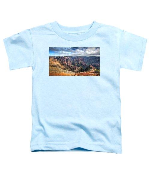 Waimea Canyon Kauai Hawaii Toddler T-Shirt