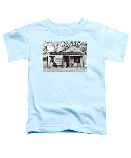 Toddler T-Shirt featuring the photograph Waiting by Susan Kinney
