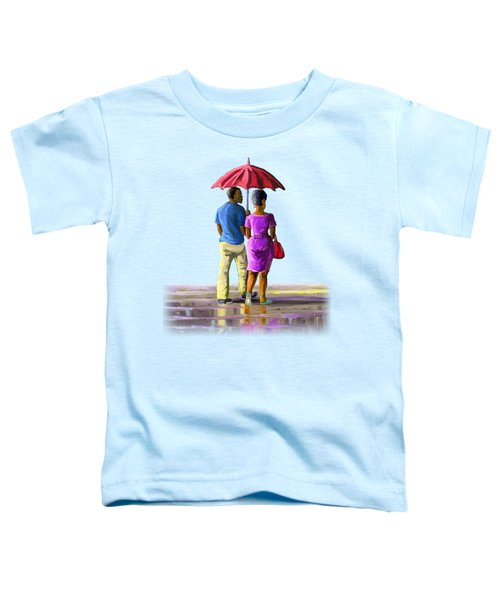Walk In The Rain Toddler T-Shirt