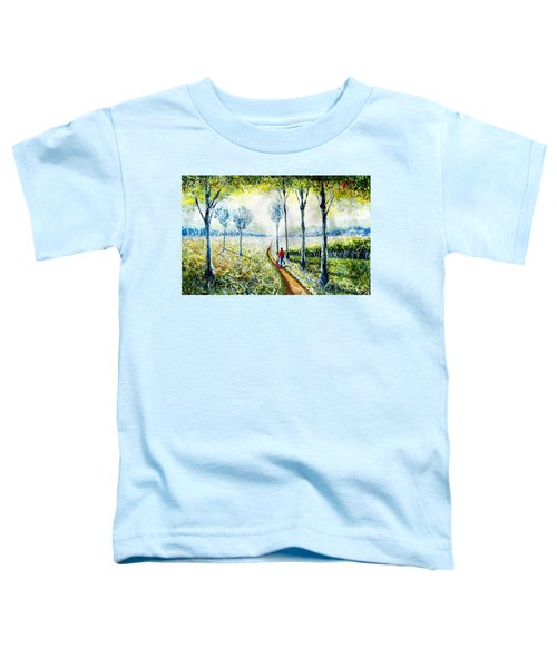 Walk Into The World Toddler T-Shirt