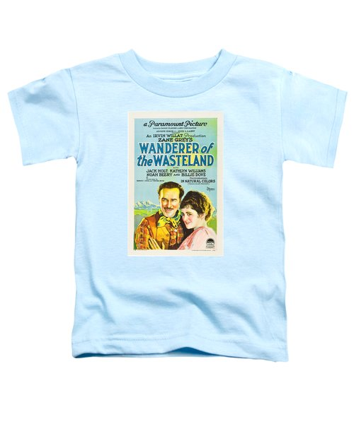 Wanderer Of The Wasteland 1924 Toddler T-Shirt