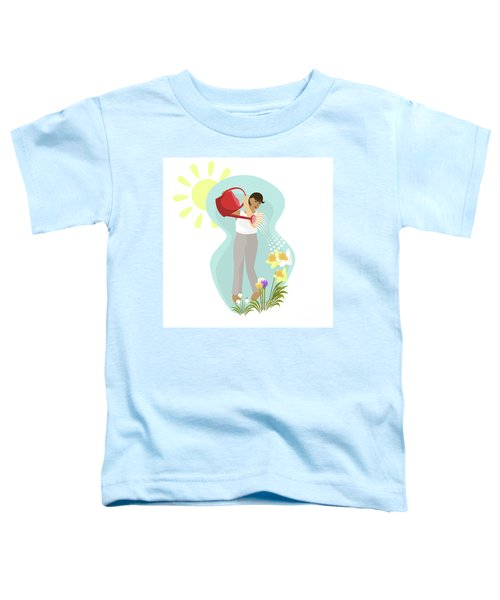 Watering Plants Toddler T-Shirt