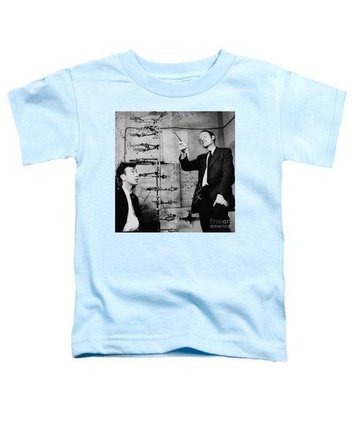Watson And Crick Toddler T-Shirt