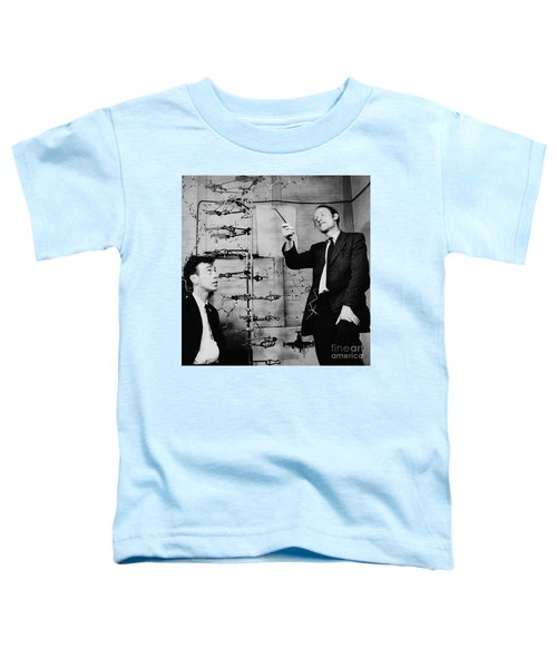 Watson And Crick Toddler T-Shirt