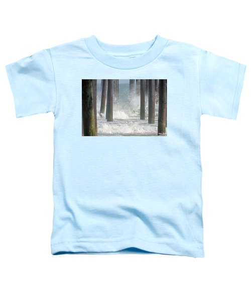 Waves Under The Pier Toddler T-Shirt