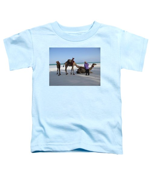 Wedding Camels In The Waiting ... Toddler T-Shirt
