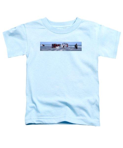 Wedding Complete Panoramic Kenya Beach Toddler T-Shirt
