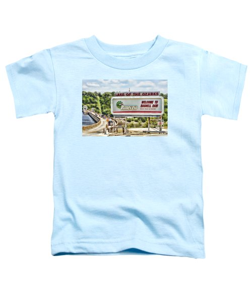 Welcome To Bagnell Dam Toddler T-Shirt