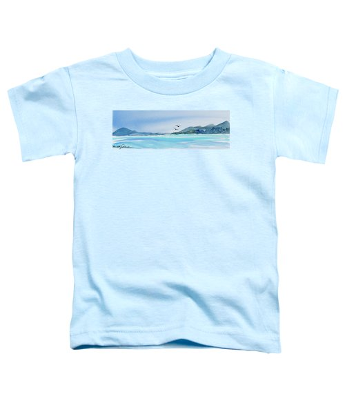 West Coast  Isle Of Pines, New Caledonia Toddler T-Shirt