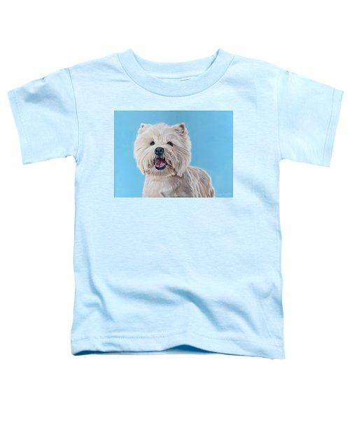 Westie Toddler T-Shirt