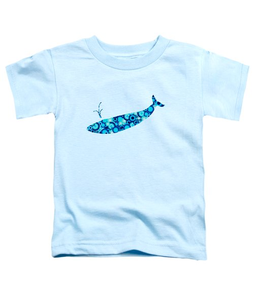 Whale - Animal Art Toddler T-Shirt