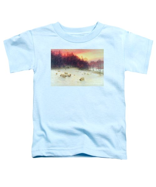 When The West With Evening Glows Toddler T-Shirt