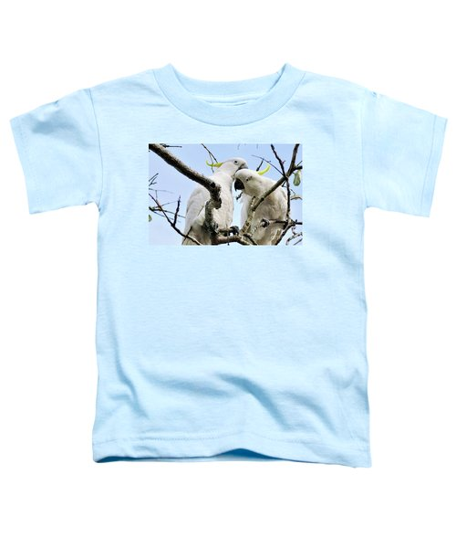 White Cockatoos Toddler T-Shirt