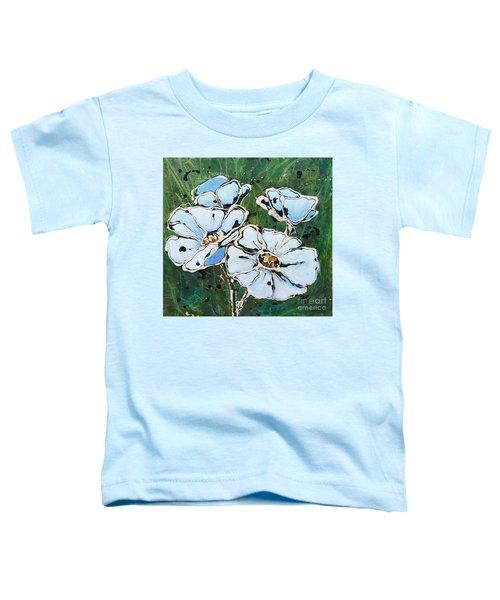White Poppies Toddler T-Shirt